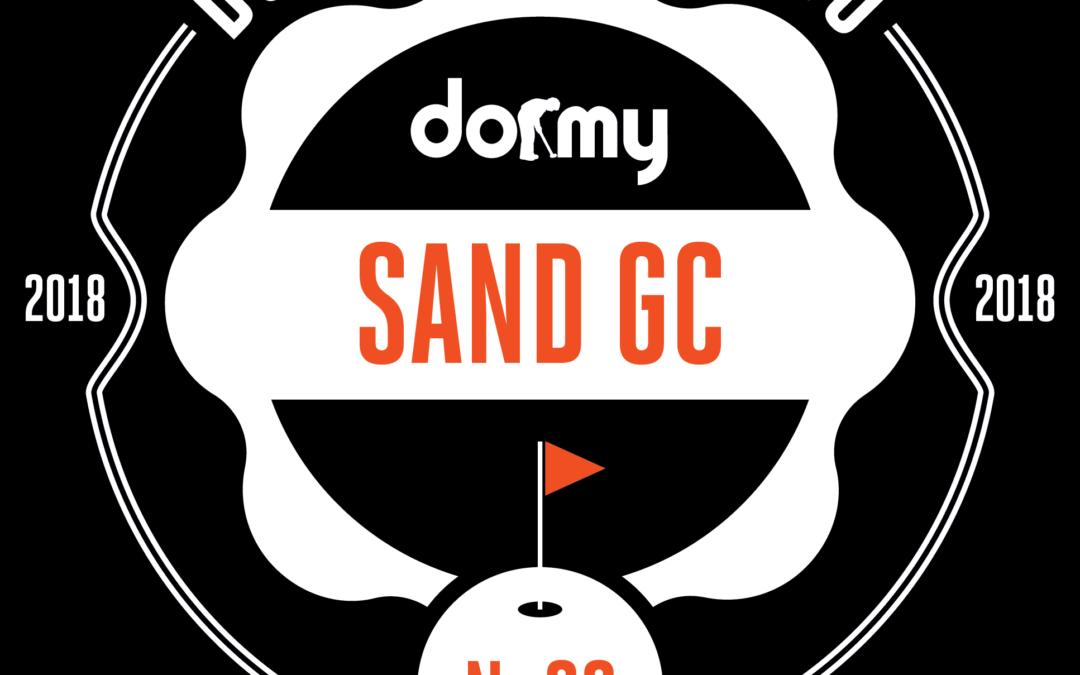 Sand utnämnd till 20e bästa golfbanan i Norden!