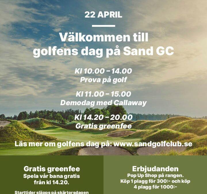 Golfens dag 22 april
