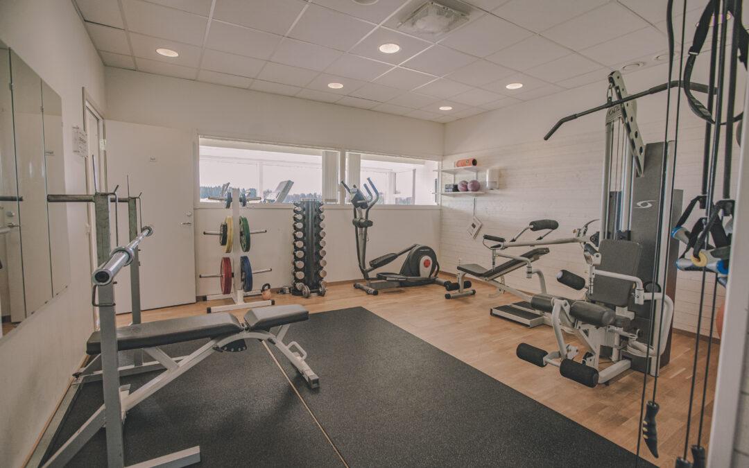 Renovering i gymmet